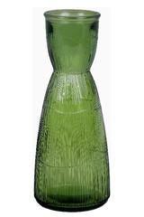 EGO DEKOR ECO Váza z recyklovaného skla, 0,9 L, olivově zelená