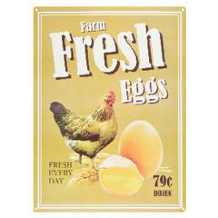ESSCHERT DESIGN Cedulka Čerstvá vejce