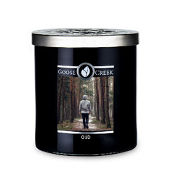 GOOSE CREEK !NOVINKA! Svíčka MEN'S COLLECTION 0,45 KG OUD, aromatická v dóze KP