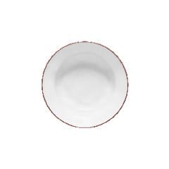 COSTA NOVA Talíř polévkový na těstoviny 21cm, BEJA, bílá červená