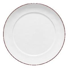 COSTA NOVA Talíř servírovací tác 38cm, BEJA, bílá červená