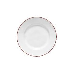 COSTA NOVA Talíř dezertní 23cm, BEJA, bílá červená