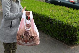 ESSCHERT DESIGN Taška nákupní kočka skládací, velká (DOPRODEJ)