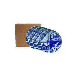 COSTA NOVA Talíř dezertní 16cm, LISBOA, modrá (mozaika), set 4ks