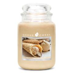 GOOSE CREEK Svíčka 0,68 KG Burákové sladké máslo, aromatická ve skle (Peanut Butter Sugar)